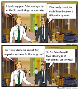 Cartoon 2: Predicting the markets