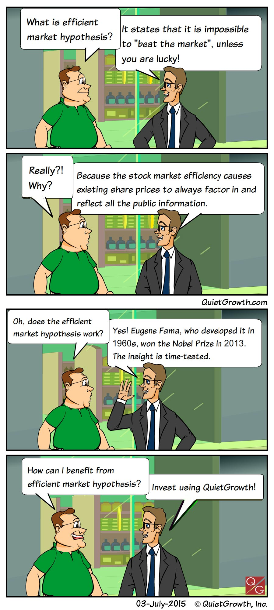Cartoon 4: Efficient Market Hypothesis