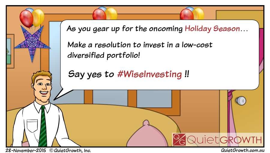 QuietGrowth Navigate Money Resolution as Happy Holidays Approach