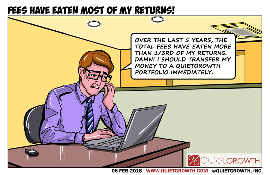 Cartoon 17: Fees have eaten most of my returns!