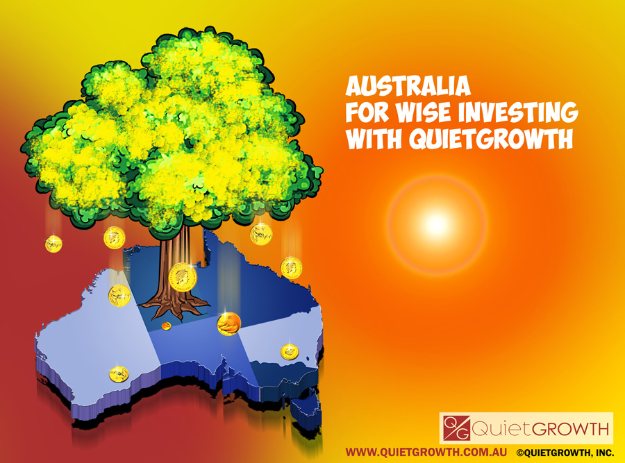 Australia – For wise investing – With QuietGrowth