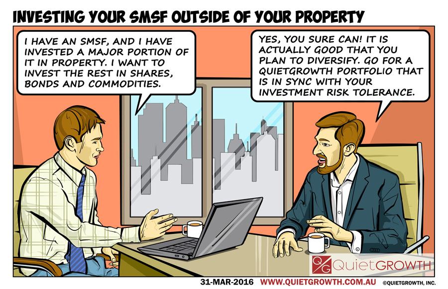 Cartoon 23: Investing your SMSF outside of your property