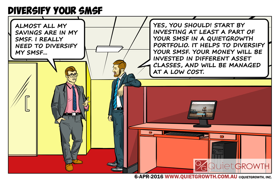 Cartoon 24: Diversify your SMSF