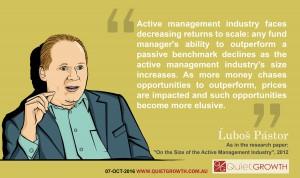 Investing quote 7: Lubos Pastor