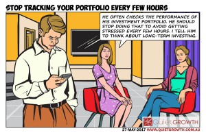 Stop tracking your portfolio every few hours