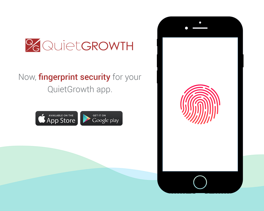 QuietGrowth App Fingerprint